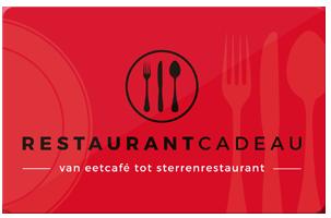 Reastaurantcadeau inleveren bij Luden Utrecht